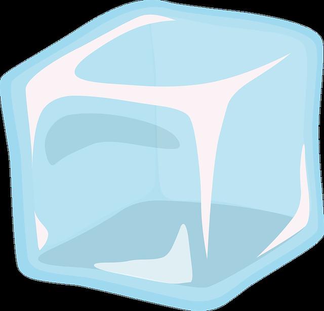 kostka ledu