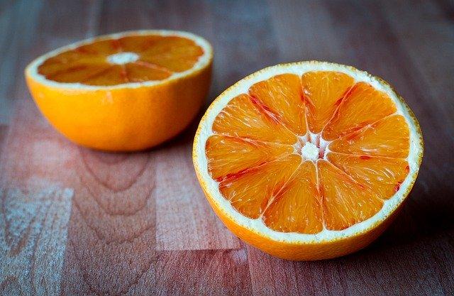 Rozřízlý pomeranč